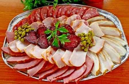 красивая мясная нарезка пошаговое приготовление и украшение