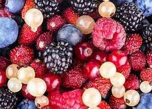 Замороженные ягоды на зиму