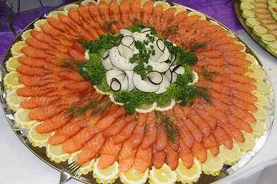 Рыбная нарезка большая праздничная