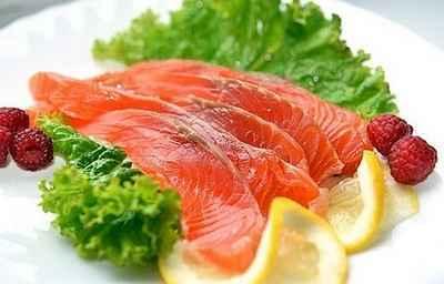 Рыбная нарезка 1 порция
