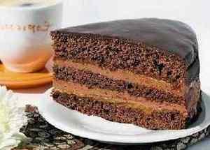 Домашний торт Пражский в глазури