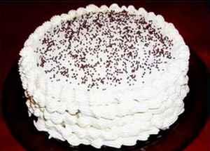 Торт сметанный