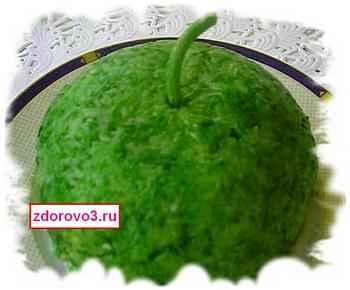 Салат Арбуз зелёный
