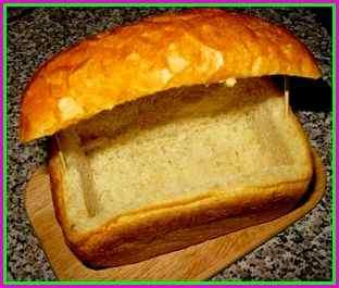 Булка хлеба для салата